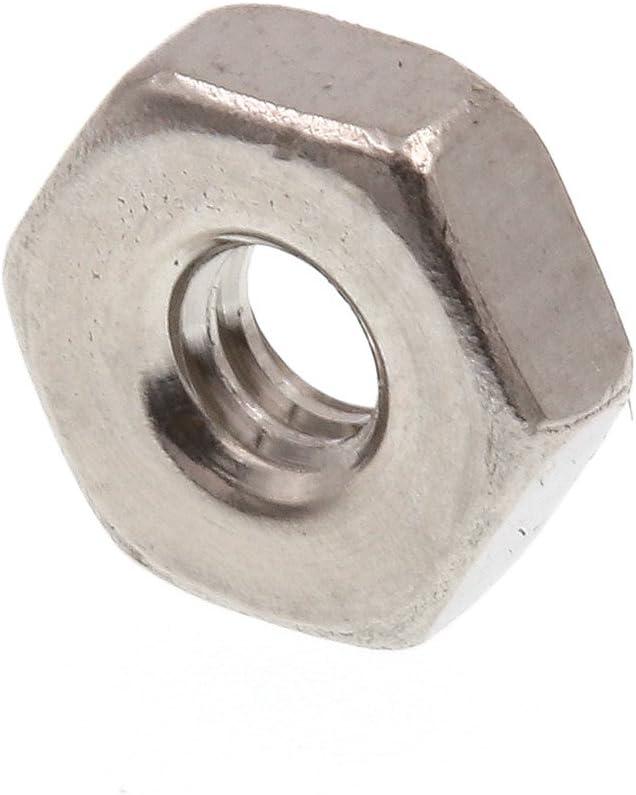 #4-40 Prime-Line 9073966 Machine Screw Hex Nuts Grade 18-8 Stainless Steel 100-Pack