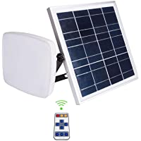 Solar Lights Indoor&Outdoor Home 1000lumen Shed Solar Light 6000mah Solar Barn Light with Remote Control Solar LED…