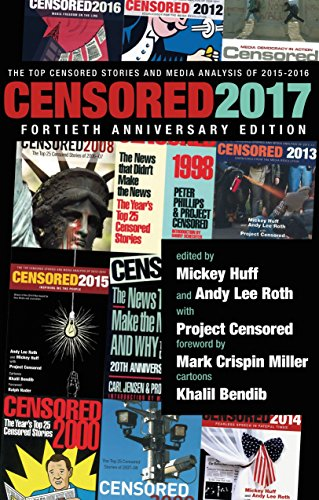 Censored 2017: The Top Censored Stories and Media Analysis of 2015-2016