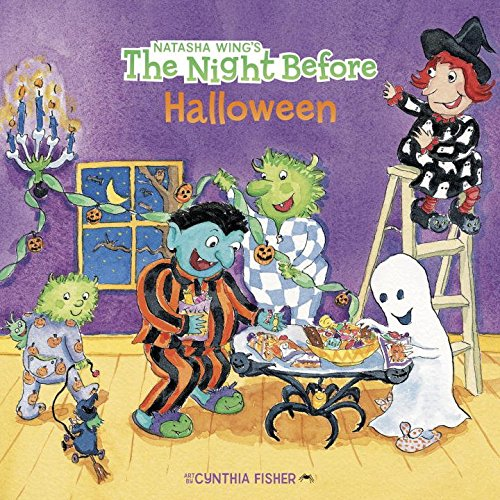The Night Before Halloween (Halloween Rhymes For Kindergarten)