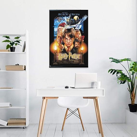 61 x 91,5 cm Erik PACK0162 Poster et Kit de Fixation Harry Potter A lEcole des Sorciers