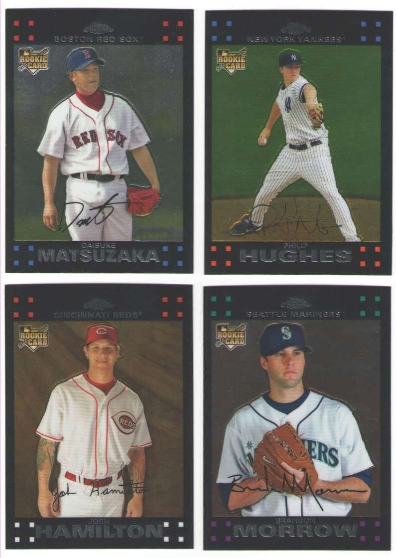 Topps Minnesota Twins 2007 Baseball Card Team Set