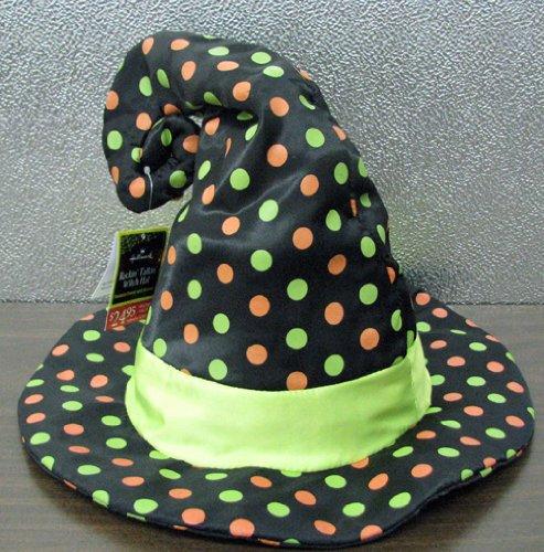 Price comparison product image Hallmark Halloween HGN5015 Rockin' Talkin' Witch's Hat