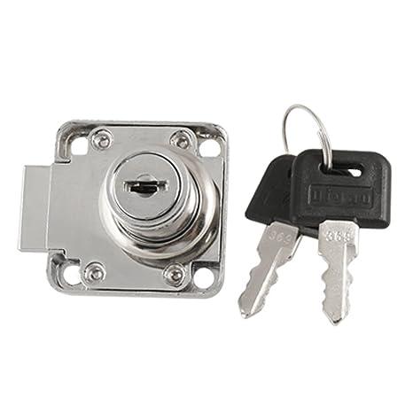 Cajones de seguridad Locker 1,91 cm diámetro cilindro de Cerradura de w 2 llaves