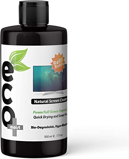 Ecomoist - Kit de limpieza de pantalla natural (500 ml, para ...