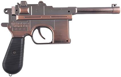 Buy Commando Metal Gun Lighter (Brown) Online at Low Prices in India