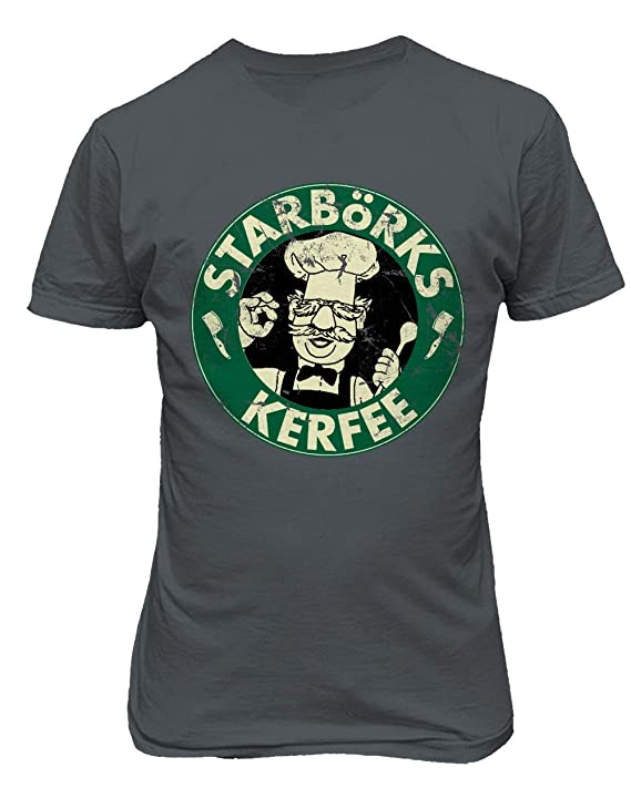 4f785213b Amazon.com: TMB Apparel New Novelty Shirt Swedish Chef Sesame Starborks  Kerfee Funny Men's T-Shirt: Clothing