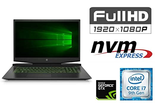 Portátil Pavilion 17-CD02 – Core i7-9750H – 16 GB DDR4-RAM – 256 ...