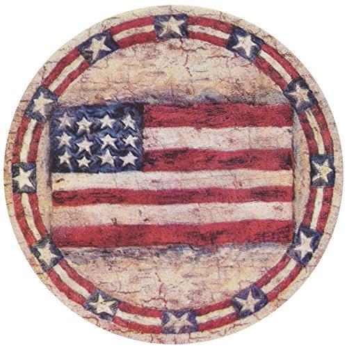 Thirstystone Stoneware Americana Coaster, Multicolor