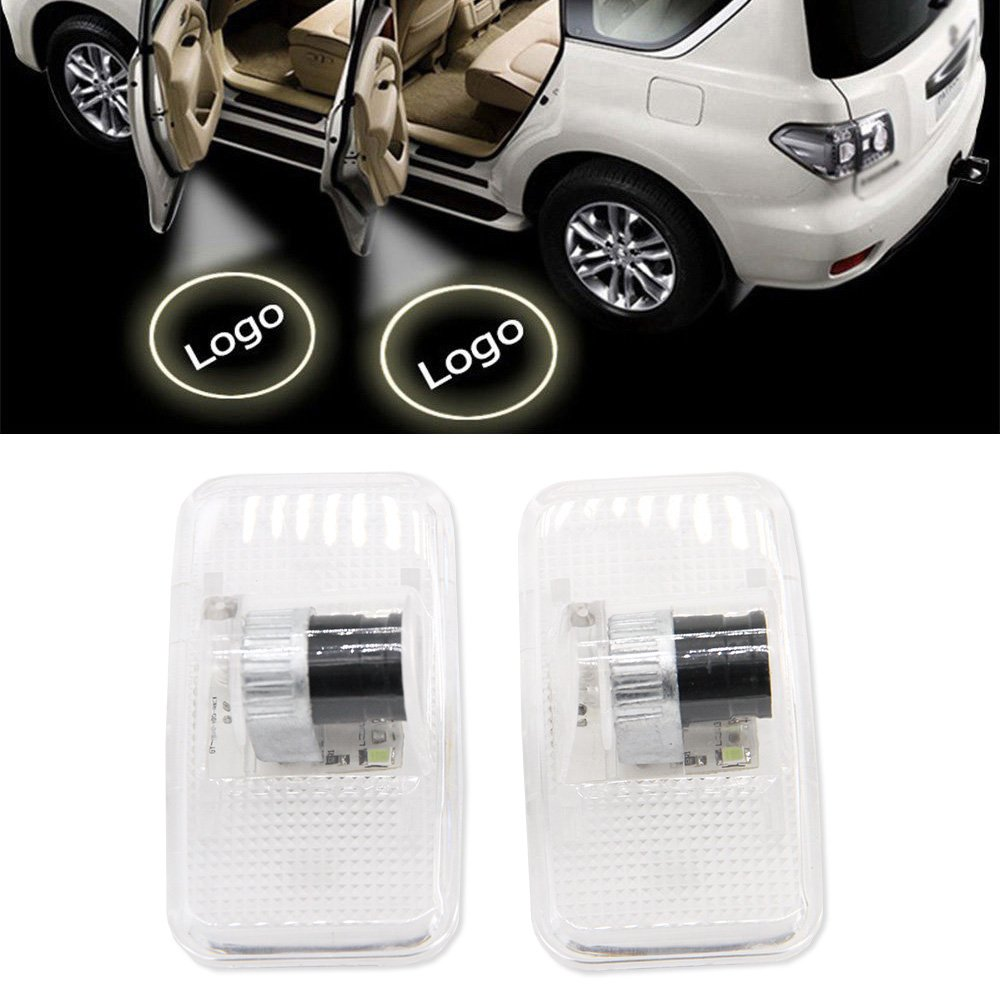 Car LED Door Logo Projector Ghost Shadow Lights Welcome Lamp for Nissan Murano SYLPHY GT-R Old Teana