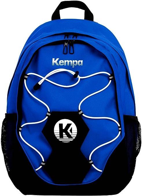 Kempa–Mochila con Red Red Azul con Pelota Fútbol