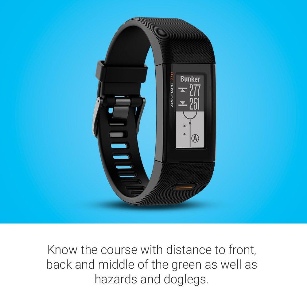 Garmin Regular Approach X10 GPS Golf Band - Matte Black: Amazon.co ...
