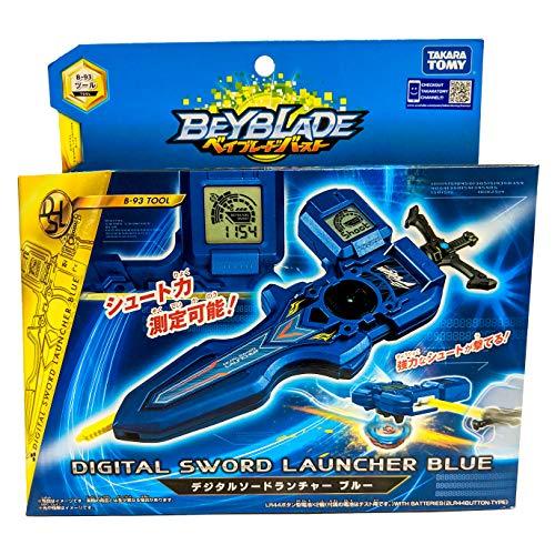 Takara Tomy B-93 Beyblade Burst Digital Sword Launcher Blue by Takaratomy (Image #7)