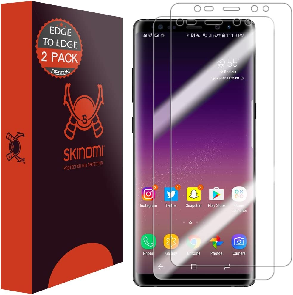 Skinomi Matte Full Body Protector Compatible with Samsung Galaxy Note 10 Full Coverage Matte Skin Anti-Glare HD Film 6.3 inch Display Screen Protector + Back Skin Cover