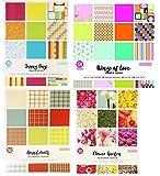 ColorBok Designer Paper, 176 Sheets Plus Cut-Outs, 8.5 X 11 Inch (4 Pads)
