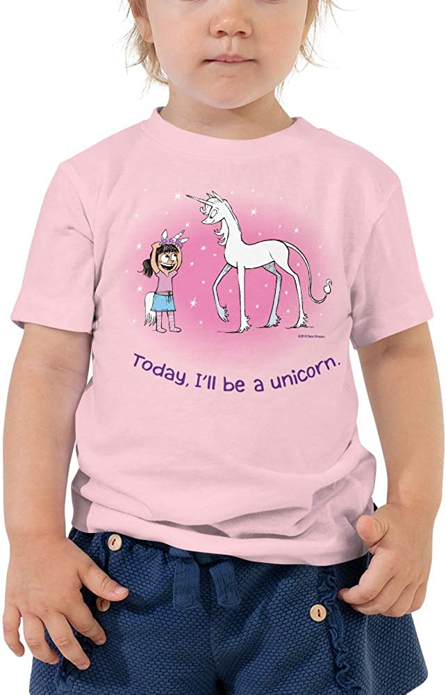 Today I/'ll Be a Unicorn Little Kid Short Sleeve T-Shirt