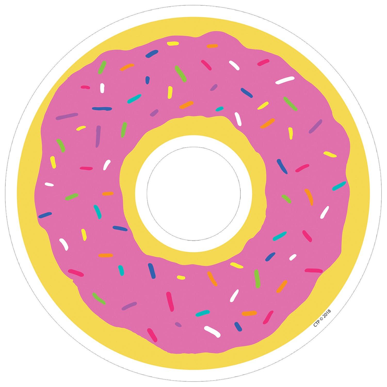8454 Creative Teaching Press So Much Pun 6 Cut-Outs Donut