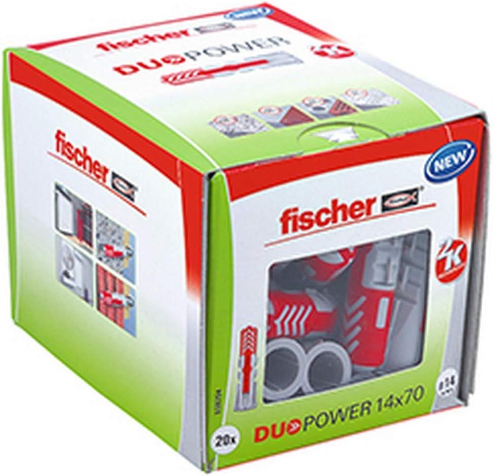 Fischer DuoPower 14x70 Schrauben 10x95-2 Stück