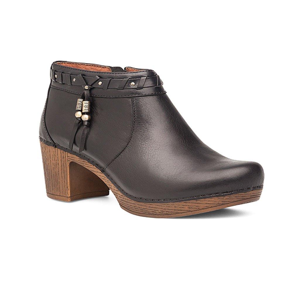 Dansko Women's Dabney Boot, Black Full Grain, 41 EU/10.5-11 M US