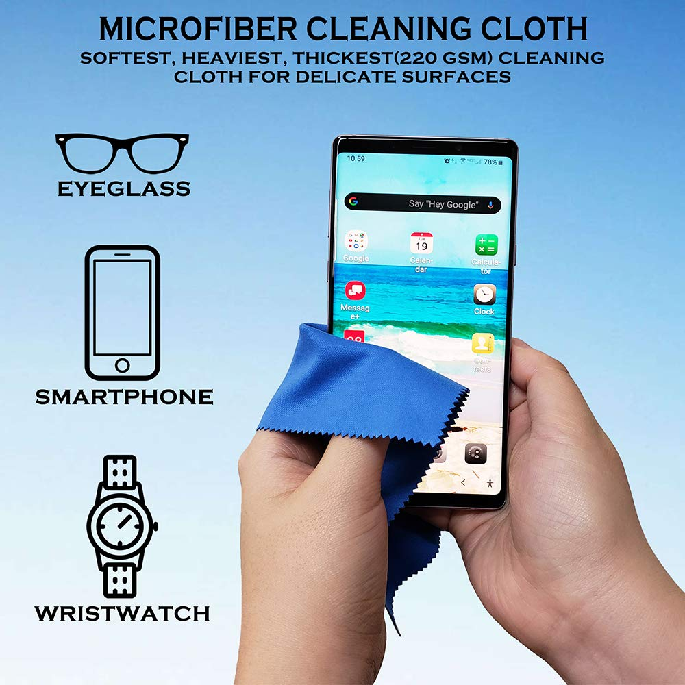 iPad iPhone Smartphone Laptops and Other Delicate Surfaces Cleaner Camera Lens Tablet 1 Pack Extra Large 14 X 15 Microfiber Cleaning Cloth for Eyeglasses Computers