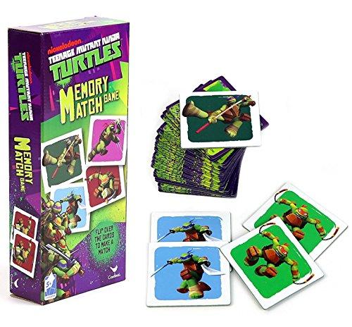 Teenage Mutant Ninja Turtles Memory Match Game - TMNT Matching Game (36-Piece) (Ninja Board Game Card compare prices)