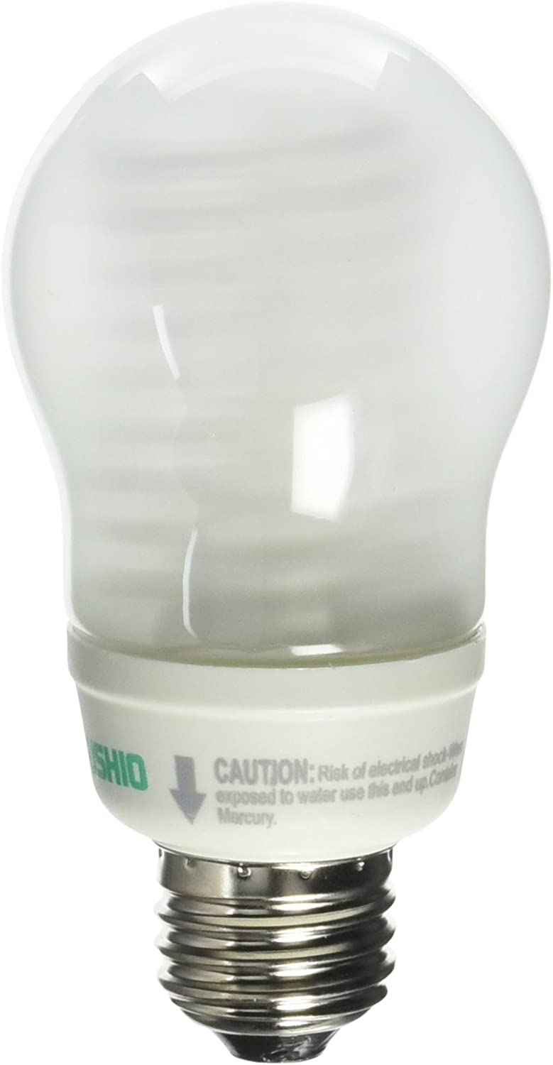 Dimmable C Ushio BC6565 3000529-8W CFL Light Bulb 40 W Equal 25,000 Life Hours Compact Fluorescent Bulbs Bulbconnection Warm White
