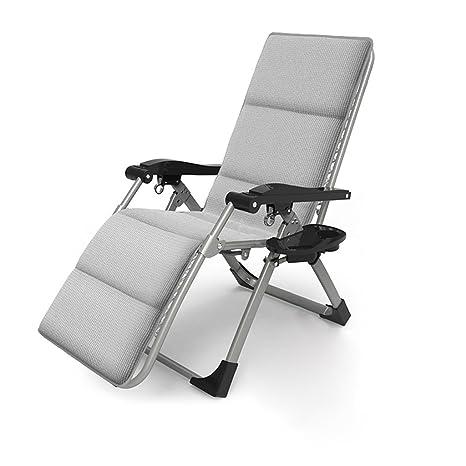 Amazon.com: Silla reclinable plegable para oficina, almuerzo ...