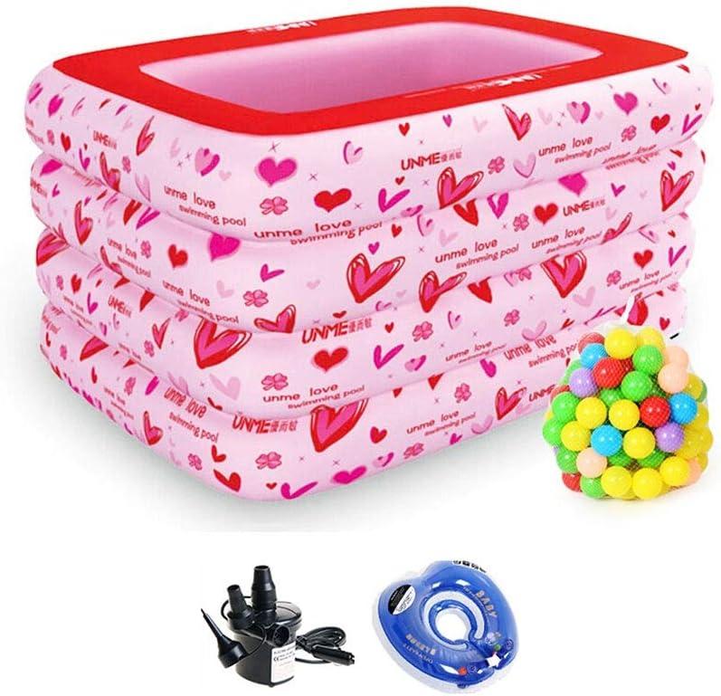 LYM & bañera Plegable Cubo de Ducha de bebé Plegable Natación ...