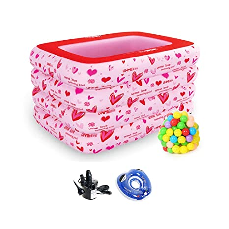LYM & bañera Plegable Cubo de Ducha de bebé Plegable ...