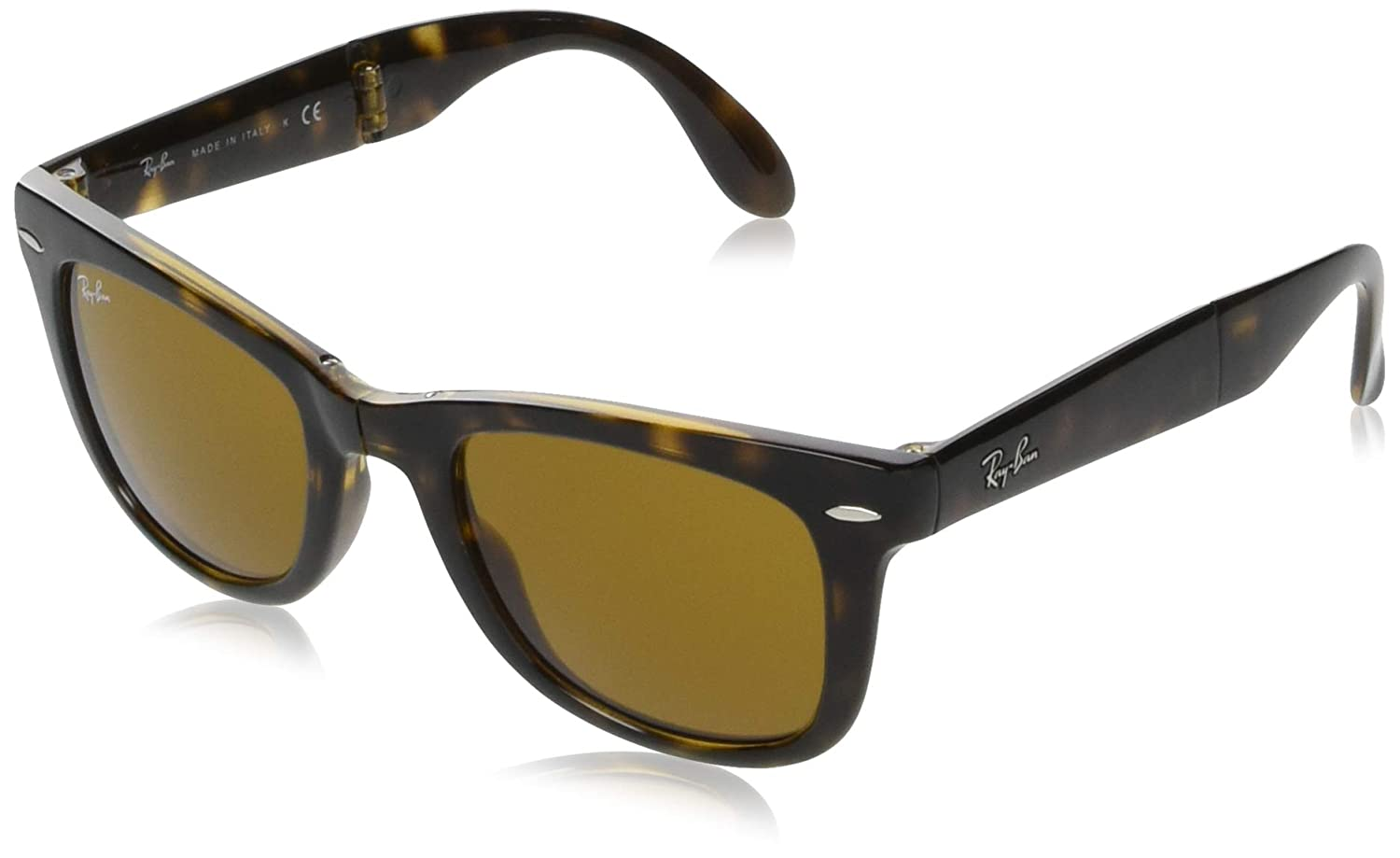Ray-Ban RB4105 Folding Wayfarer - Gafas de sol, 54 mm