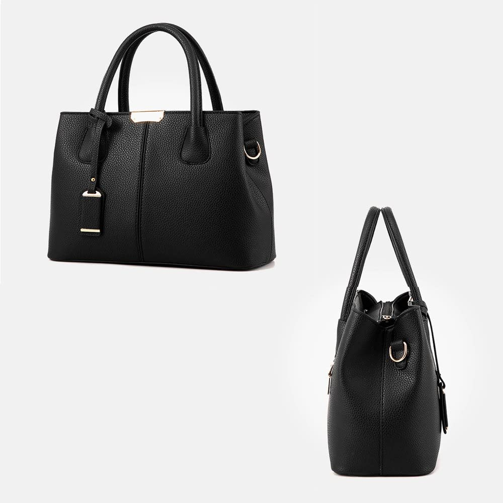 Womens Shoulder Bags PU Leather Fashion Casual Crossbody Bags White-collar Ladies Tote Bags