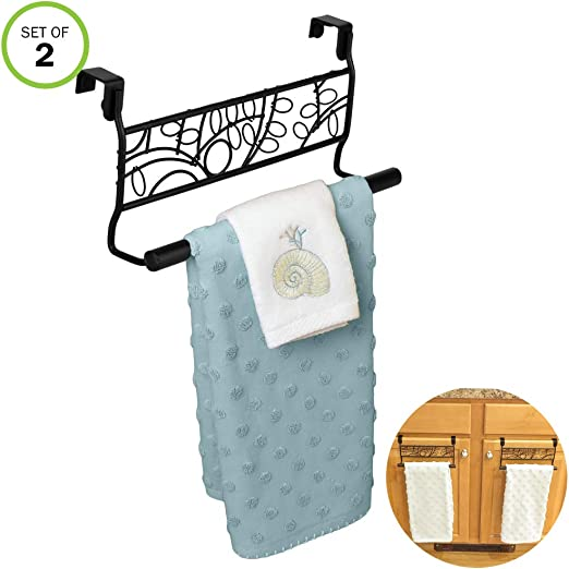 Evelots Toilet Paper Holder-Stainless Steel-Easy Install-No Tools Needed-Set//2