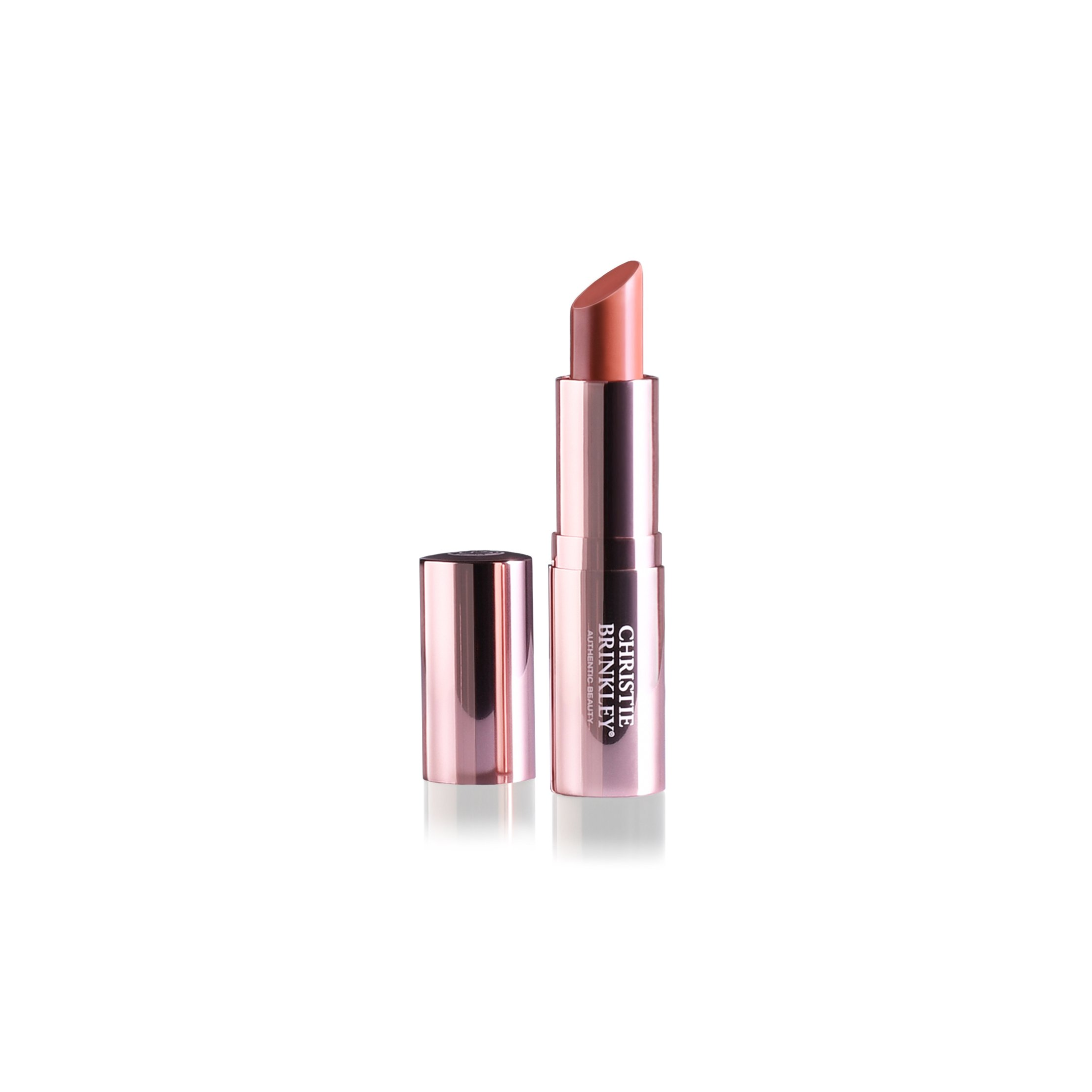 Christie Brinkley Authentic Beauty Lip Beautifully Moisture-Rich Lipstick, 0.14 oz (Bliss)