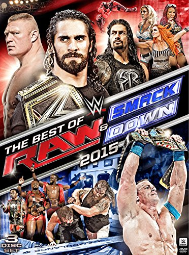 DVD : WWE: Best of RAW and SmackDown 2015 (, 3 Pack, 3 Disc)