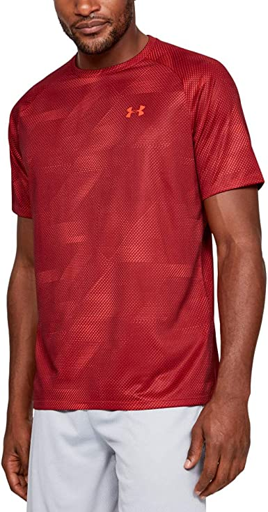 perdonado Goma ceja  Under Armour Tech 20 - Camisa Manga Corta Hombre: Amazon.es: Ropa y  accesorios