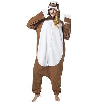 Katara - Disfraz Animal Pijama Una Pieza, Adultos Color Perezoso Talla 145-155cm (S): Amazon.es: Juguetes y juegos
