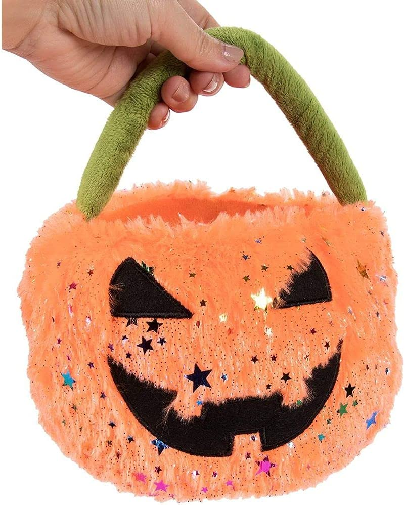 Trick or Treat Bag Bucket Basket Pumpkin Jack O Lantern Halloween holiday candy holder Jack Skellington Nightmare before christmas reusable