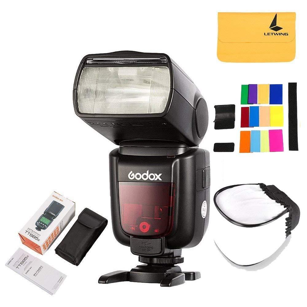GODOX TT685C Thinklite TTL Camera Flash 2.4GHz High Speed 1/8000s GN60 Compatible Canon EOS Cameras E-TTL II Autoflash (TT685C)