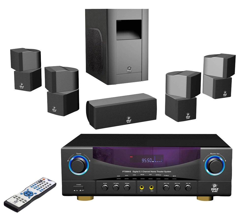wireless surround sound system speakers quality for your. Black Bedroom Furniture Sets. Home Design Ideas