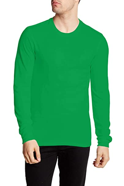 f4446fc74fce Miracle(Tm) Sports Long Sleeve Shirts for Men - Adult Green Mens Gym Shirts