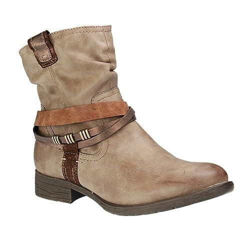 separation shoes b942e 626dd Jana Softline 25461 Taupe Ankle Boot 7 UK: Amazon.co.uk ...