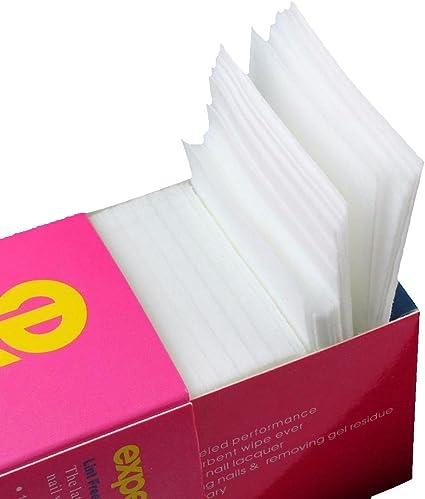 SODIAL 325 piezas unas toallitas cojines de algodon gratis pelusa ...