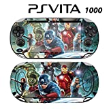 Decorative Video Game Skin Decal Cover Sticker for Sony PlayStation PS Vita (PCH-1000) - Avengers