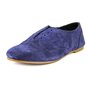 Sole Society Elena Women US 6 Blue Loafer