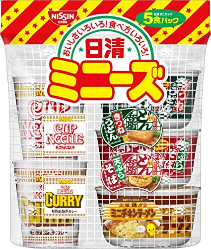 Nisshin Minizu east 205g (5 meals pack) ~ 6 pieces by Nissin
