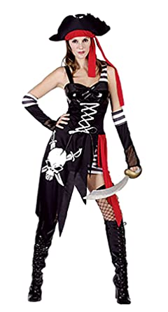 Amazon.com: Rimi colgadero Shiver maderas disfraz de pirata ...