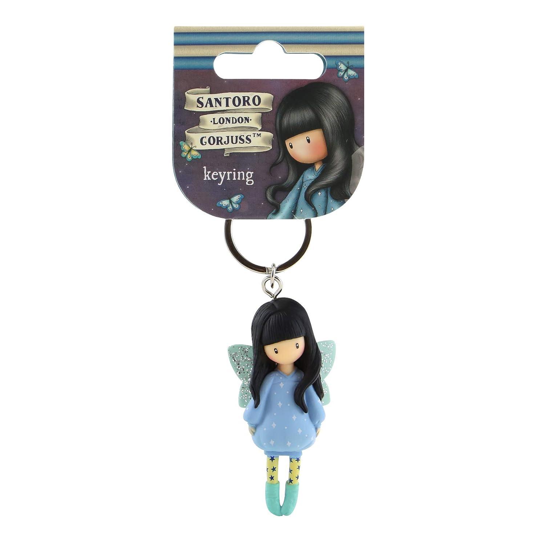 Gorjuss Figurine Keyring 631GJ09 - Bubble Fairy