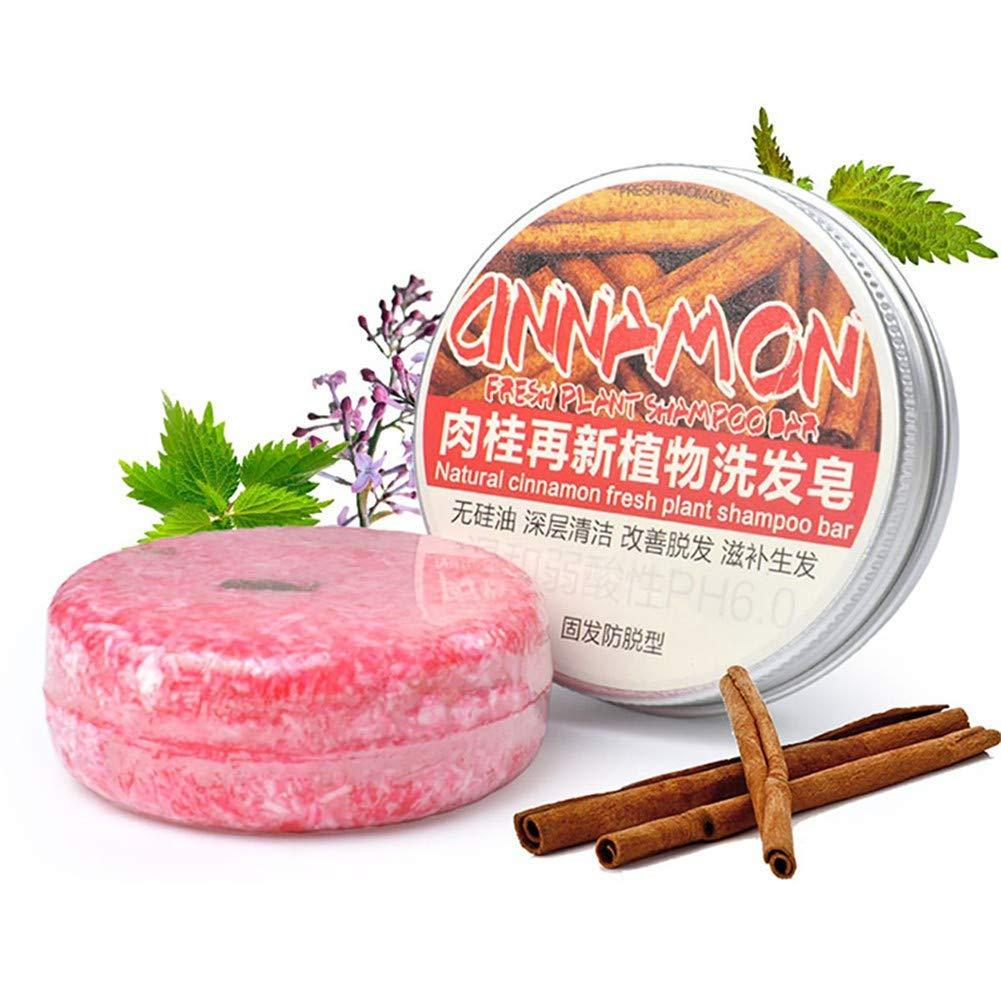 Fairylove Conditioning Shampoo Bar, Shampooing Solide Sec Fait à La Main Savon Cheveux Hydratant Nettoyant Profond 100% Naturel Organique Pur(Rose Noix)
