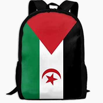 a472f93b68 Image Unavailable. Image not available for. Color  Children s School  Backpack Flag Of Western Sahara Outdoor Travel Backpack Students Backpacks  Boys Book ...