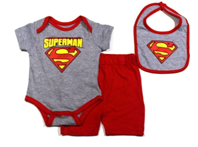 19cf4ad3272d Image Unavailable. Image not available for. Color  KWC Baby Boys Superman  Bodysuit